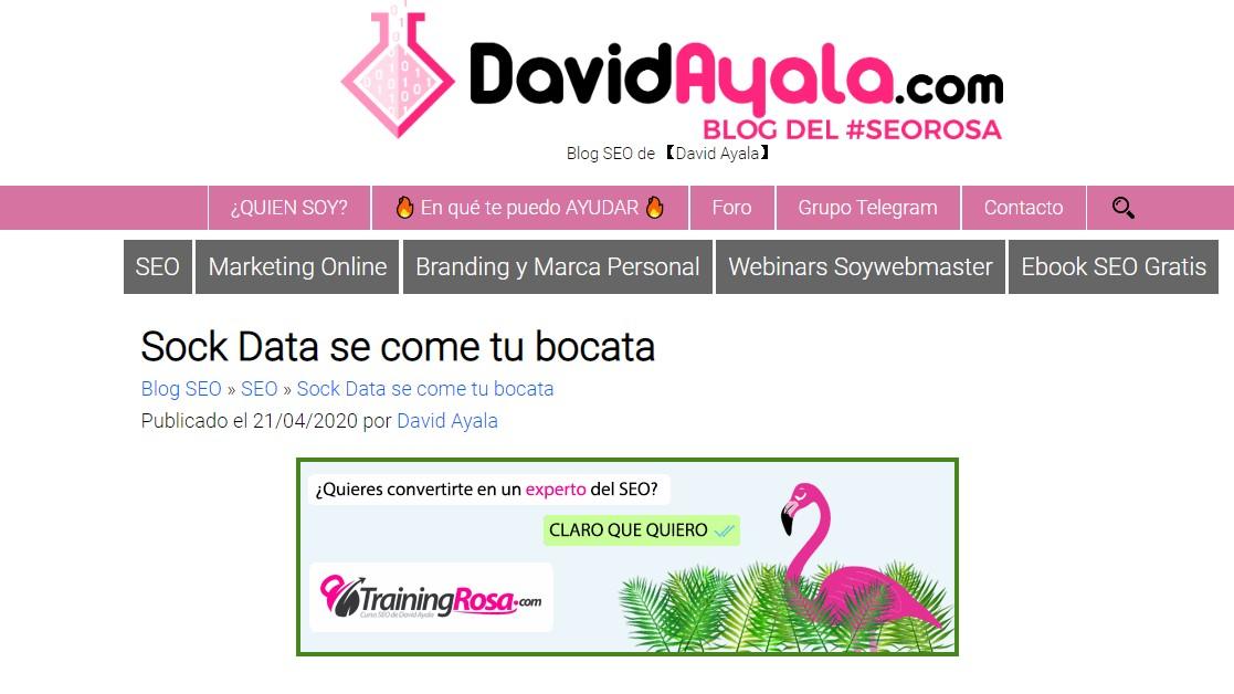 Sock Data Se Come Tu Bocata Marketing Digital Blogs Larioja Com