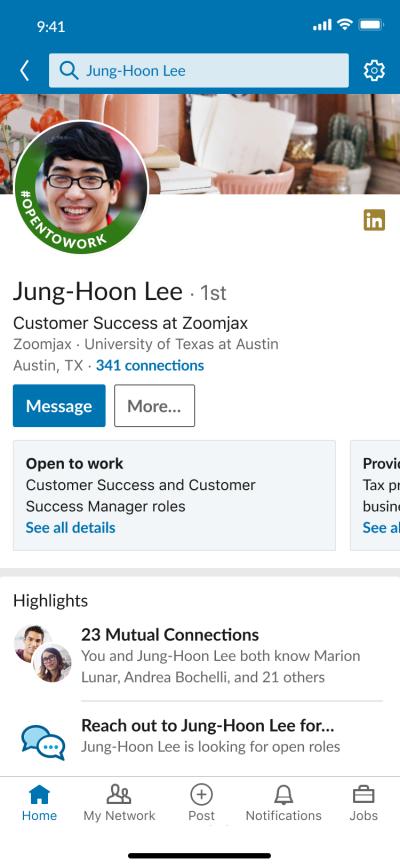 Cómo encontrar trabajo en Linkedin