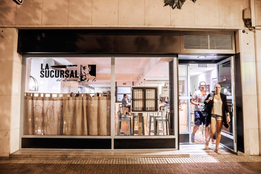 La Sucursal de Luismi, en avenida de Portugal. Foto de Justo Rodríguez