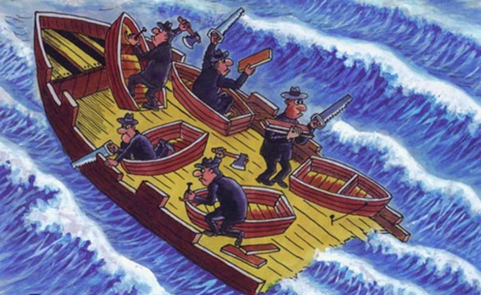 metafora del efecto del individualismo